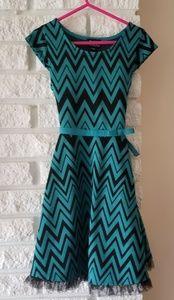 EUC Chevron dress